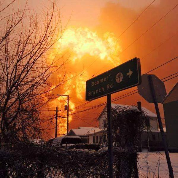 'West Va Oil Explosion' photo